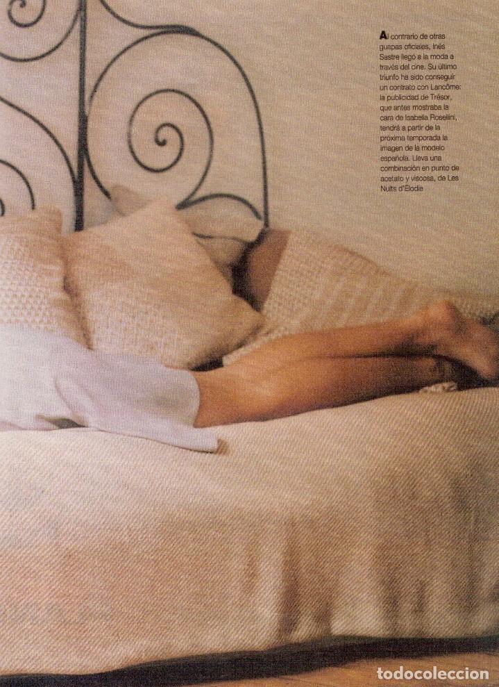 Coleccionismo de Revista Blanco y Negro: 1996. PONCE VS JOSELITO. INÉS SASTRE. AZÚCAR MORENO. EMMANUELLE BEART. VER SUMARIO... - Foto 12 - 120202647