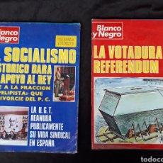 Coleccionismo de Revista Blanco y Negro: BLANCO Y NEGRO. NÚM 3338 Y 3339 (1976).. Lote 120308935