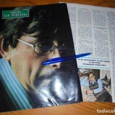 Coleccionismo de Revista Blanco y Negro: RECORTE PRENSA : IDOLOS SIN PEDESTAL : RAIMON, ANTES DEL RECITAL . BLANCO Y NEGRO, FBRO 1976. Lote 121969583