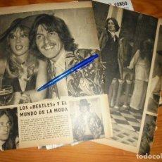 Coleccionismo de Revista Blanco y Negro: RECORTE PRENSA : LOS BEATLES Y EL MUNDO DE LA MODA . BLANCO Y NEGRO, JUNIO 1968. Lote 122197775