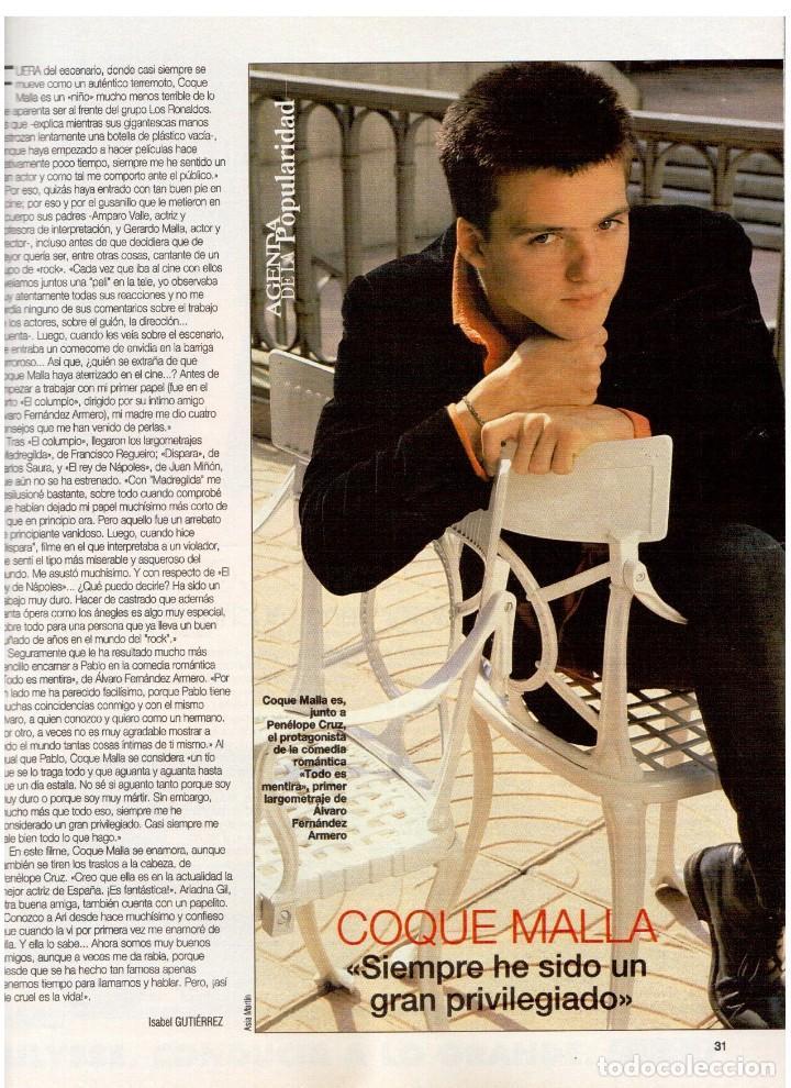 Coleccionismo de Revista Blanco y Negro: 1994. ANNA GALIENA.COQUE MALLA.BEATRIZ RICO.SYLVESTER STALLONE.SUSANA FUJIMORI. VER SUMARIO. - Foto 4 - 123073631