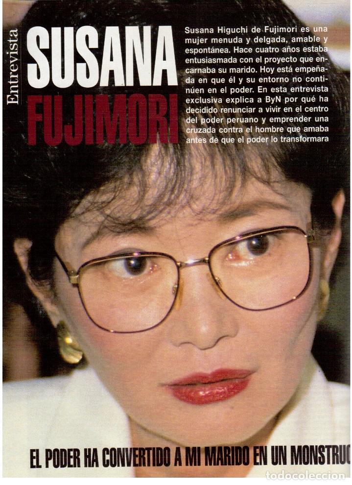 Coleccionismo de Revista Blanco y Negro: 1994. ANNA GALIENA.COQUE MALLA.BEATRIZ RICO.SYLVESTER STALLONE.SUSANA FUJIMORI. VER SUMARIO. - Foto 7 - 123073631
