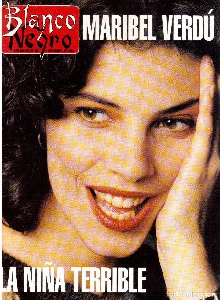 1994. MARIBEL VERDÚ. NACHO CANO DE MECANO.NANA MOUSKOURI. SILVIA TORTOSA. (Coleccionismo - Revistas y Periódicos Modernos (a partir de 1.940) - Blanco y Negro)