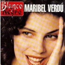 Coleccionismo de Revista Blanco y Negro: 1994. MARIBEL VERDÚ. NACHO CANO DE MECANO.NANA MOUSKOURI. SILVIA TORTOSA.. Lote 123078935