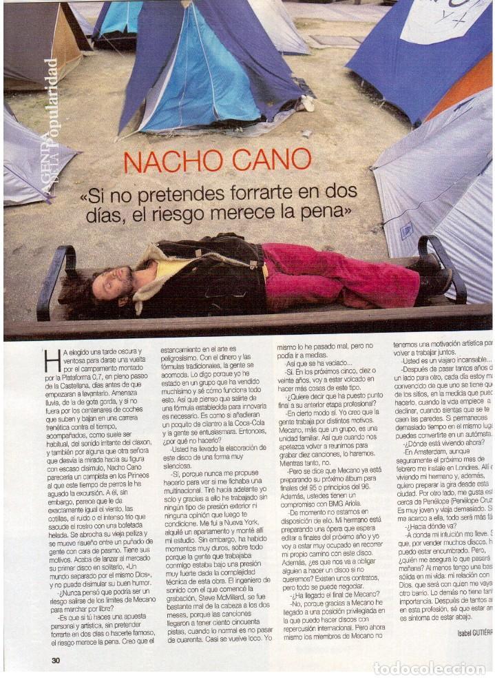 Coleccionismo de Revista Blanco y Negro: 1994. maribel verdú. nacho cano de mecano.nana mouskouri. silvia tortosa. - Foto 3 - 123078935