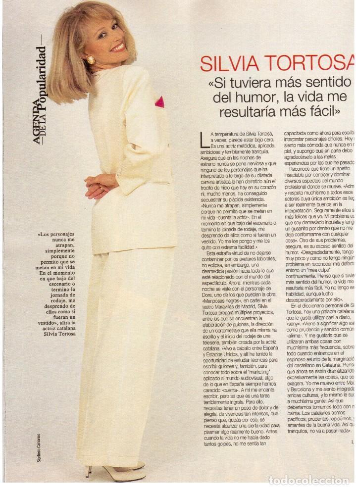 Coleccionismo de Revista Blanco y Negro: 1994. maribel verdú. nacho cano de mecano.nana mouskouri. silvia tortosa. - Foto 5 - 123078935