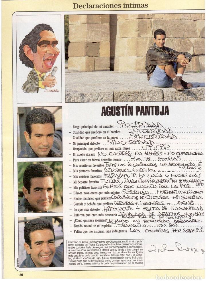 Coleccionismo de Revista Blanco y Negro: 1994. maribel verdú. nacho cano de mecano.nana mouskouri. silvia tortosa. - Foto 6 - 123078935