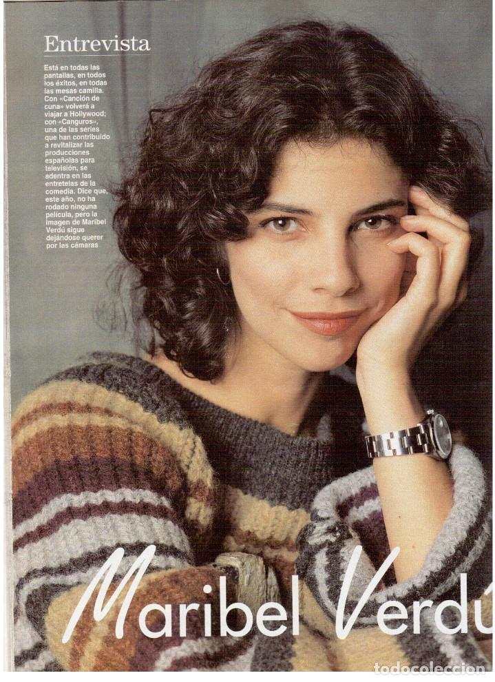 Coleccionismo de Revista Blanco y Negro: 1994. maribel verdú. nacho cano de mecano.nana mouskouri. silvia tortosa. - Foto 7 - 123078935