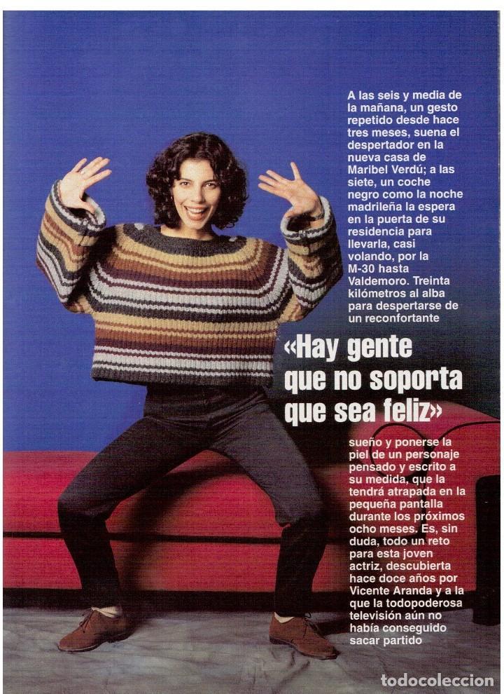 Coleccionismo de Revista Blanco y Negro: 1994. maribel verdú. nacho cano de mecano.nana mouskouri. silvia tortosa. - Foto 8 - 123078935