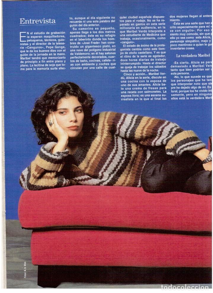 Coleccionismo de Revista Blanco y Negro: 1994. maribel verdú. nacho cano de mecano.nana mouskouri. silvia tortosa. - Foto 9 - 123078935