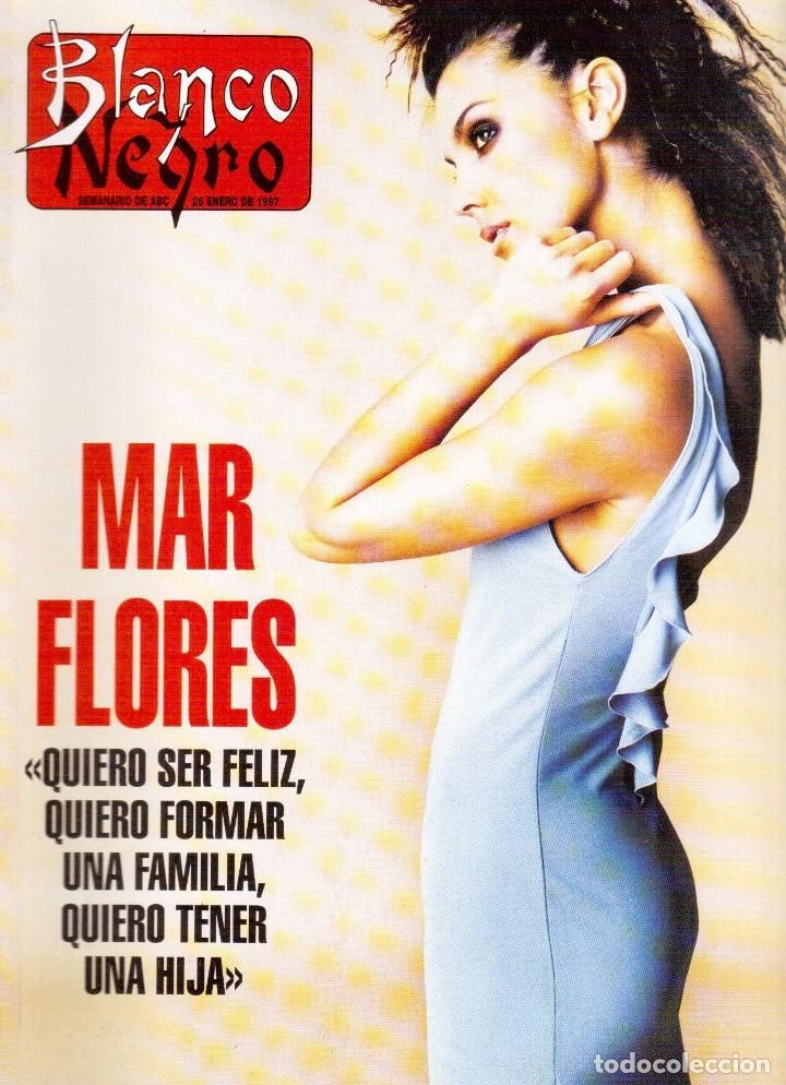 1994. MAR FLORES. BEATRIZ RICO. MARÍA JOSÉ CANTUDO. CONCHA VELASCO. PATRICIA ARQUETTE. VER SUMARIO. (Coleccionismo - Revistas y Periódicos Modernos (a partir de 1.940) - Blanco y Negro)
