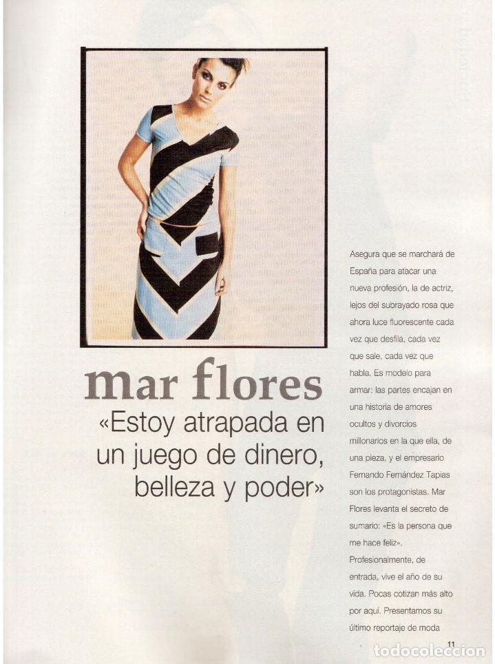 Coleccionismo de Revista Blanco y Negro: 1994. MAR FLORES. BEATRIZ RICO. MARÍA JOSÉ CANTUDO. CONCHA VELASCO. PATRICIA ARQUETTE. VER SUMARIO. - Foto 4 - 123129823