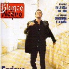Coleccionismo de Revista Blanco y Negro: 1997. ENRIQUE IGLESIAS.MARTA SÁNCHEZ.BLANCA SUELVES.ESTEFANIA LUIK.ROCÍO JURADO.. Lote 123315755