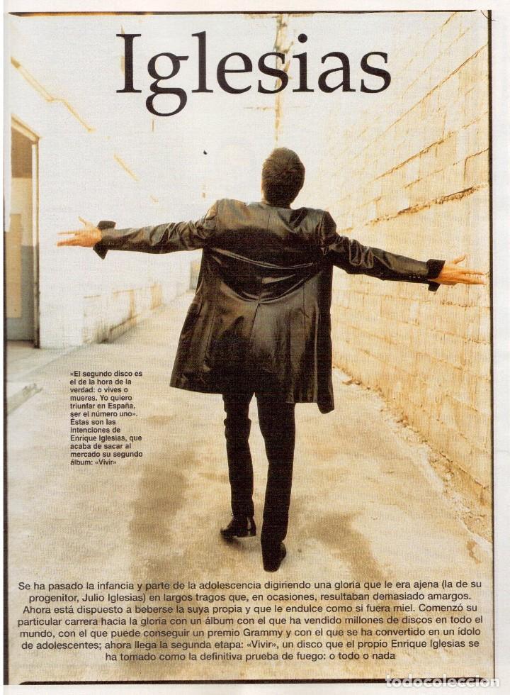Coleccionismo de Revista Blanco y Negro: 1997. ENRIQUE IGLESIAS.MARTA SÁNCHEZ.BLANCA SUELVES.ESTEFANIA LUIK.ROCÍO JURADO. - Foto 4 - 123315755