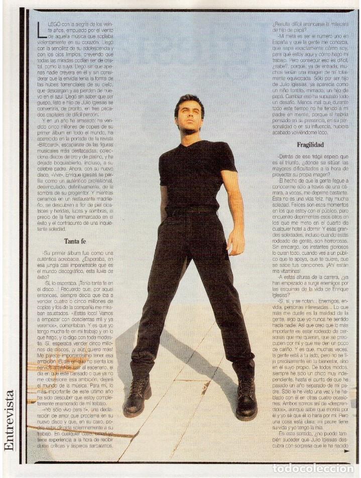 Coleccionismo de Revista Blanco y Negro: 1997. ENRIQUE IGLESIAS.MARTA SÁNCHEZ.BLANCA SUELVES.ESTEFANIA LUIK.ROCÍO JURADO. - Foto 5 - 123315755