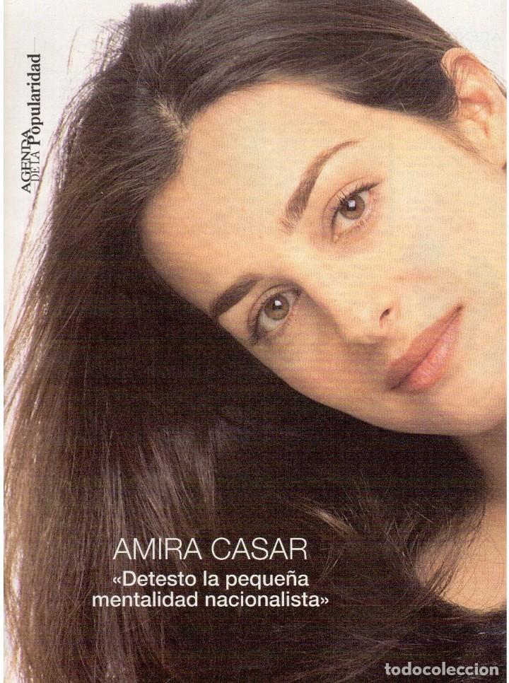 Coleccionismo de Revista Blanco y Negro: 1997. ENRIQUE IGLESIAS.MARTA SÁNCHEZ.BLANCA SUELVES.ESTEFANIA LUIK.ROCÍO JURADO. - Foto 9 - 123315755