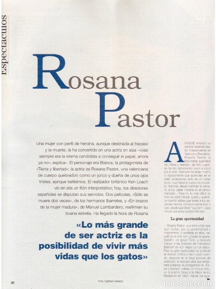 Coleccionismo de Revista Blanco y Negro: 1997. ENRIQUE IGLESIAS.MARTA SÁNCHEZ.BLANCA SUELVES.ESTEFANIA LUIK.ROCÍO JURADO. - Foto 11 - 123315755