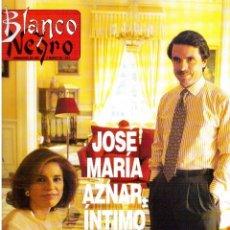 Coleccionismo de Revista Blanco y Negro: 1997. JOSÉ MARÍA AZNAR ÍNTIMO. INÉS SÁINZ. KARLA FRECHILLA. VER SUMARIO.. Lote 123317351