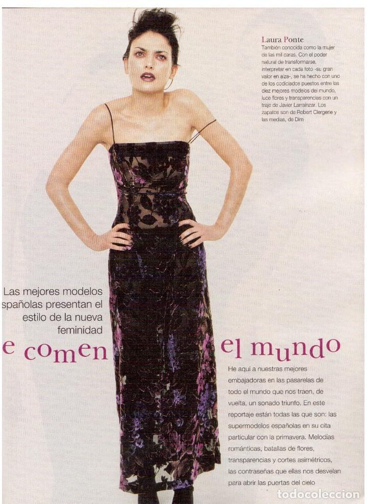 Coleccionismo de Revista Blanco y Negro: 1997. INÉS SASTRE.LAURA PONTE.JUDIT MASCÓ.NIEVES ÁLVAREZ.ESTHER CAÑADAS.VANESSA LORENZO... - Foto 4 - 123323155
