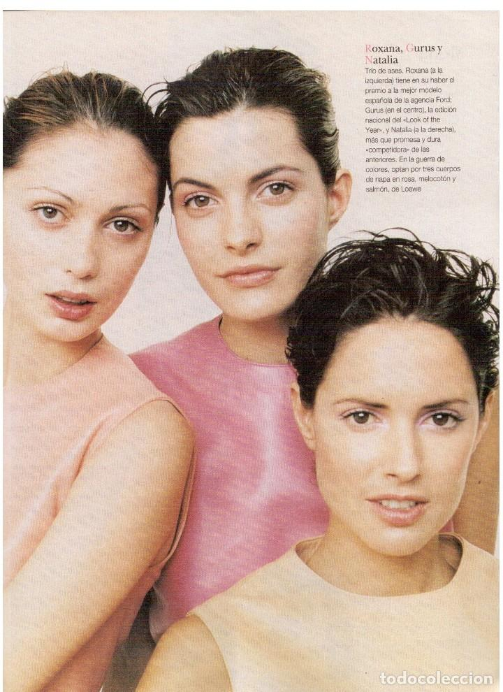 Coleccionismo de Revista Blanco y Negro: 1997. INÉS SASTRE.LAURA PONTE.JUDIT MASCÓ.NIEVES ÁLVAREZ.ESTHER CAÑADAS.VANESSA LORENZO... - Foto 7 - 123323155
