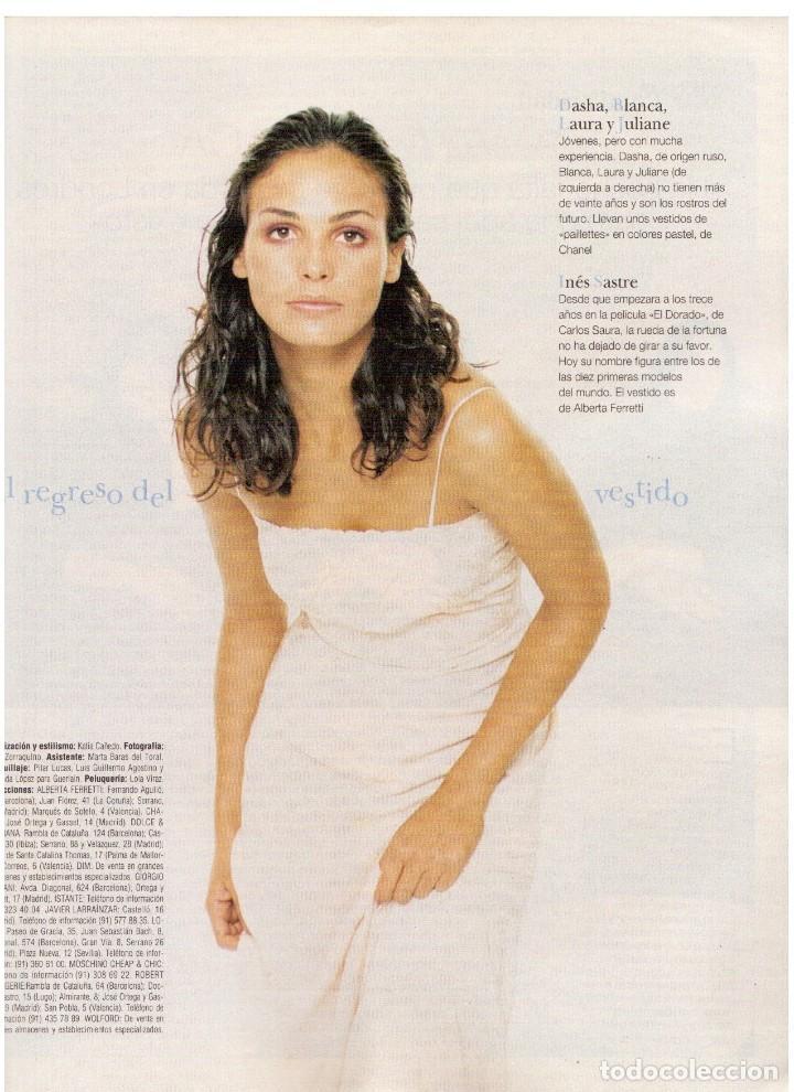 Coleccionismo de Revista Blanco y Negro: 1997. INÉS SASTRE.LAURA PONTE.JUDIT MASCÓ.NIEVES ÁLVAREZ.ESTHER CAÑADAS.VANESSA LORENZO... - Foto 11 - 123323155
