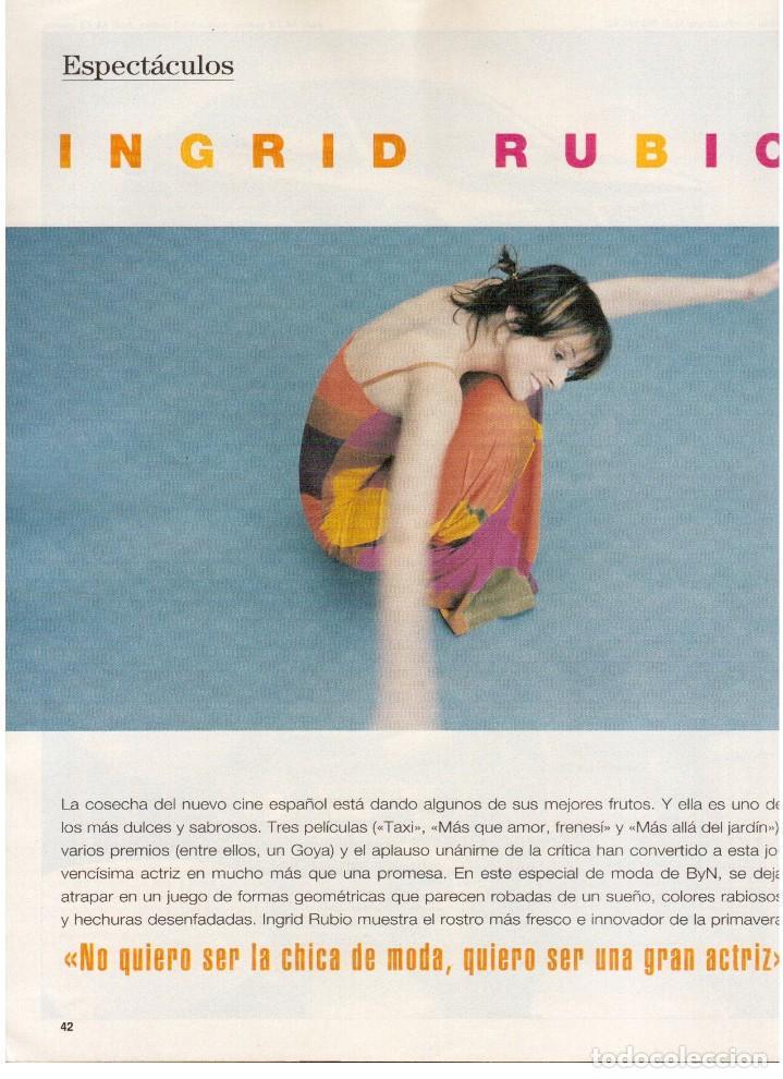 Coleccionismo de Revista Blanco y Negro: 1997. INÉS SASTRE.LAURA PONTE.JUDIT MASCÓ.NIEVES ÁLVAREZ.ESTHER CAÑADAS.VANESSA LORENZO... - Foto 12 - 123323155