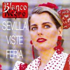 Coleccionismo de Revista Blanco y Negro: 1997. NOOR DE JORDANIA.MAR FLORES.JUNCAL RIVERO.KRISTIN SCOTT-THOMAS.CARMELO GÓMEZ. VER SUMARIO. . Lote 123333551