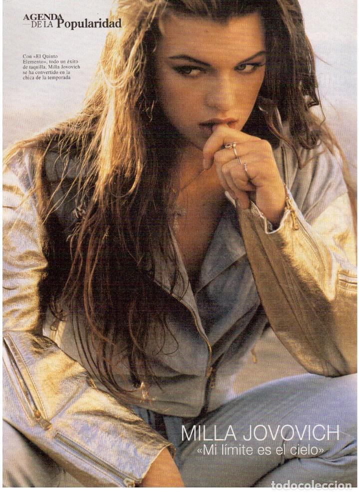 Coleccionismo de Revista Blanco y Negro: 1997. MANOLETE. PAULA VAZQUEZ. IVONNE REYES.MILLA JOVOVICH.MARIBEL VERDÚ. VER SUMARIO. - Foto 5 - 123394563