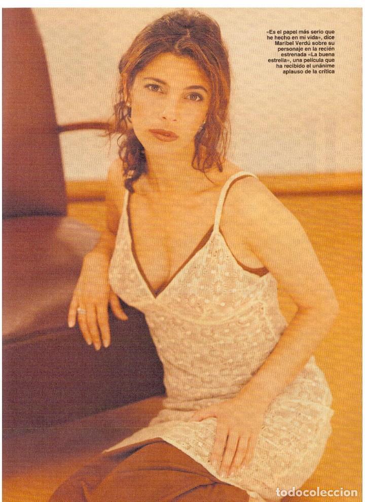 Coleccionismo de Revista Blanco y Negro: 1997. MANOLETE. PAULA VAZQUEZ. IVONNE REYES.MILLA JOVOVICH.MARIBEL VERDÚ. VER SUMARIO. - Foto 6 - 123394563