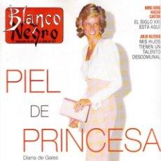 Coleccionismo de Revista Blanco y Negro: 1997. DIANA DE GALES. JULIO IGLESIAS. INÉS SAINZ. JULIO JOSÉ IGLESIAS. VANESSA LORENZO. VER SUMARIO.. Lote 123396427