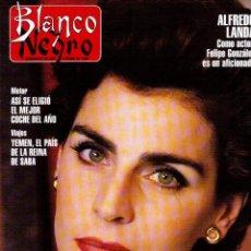 Coleccionismo de Revista Blanco y Negro: 1994. MIGUEL BOSÉ. ROCIITO. ANA ÁLVAREZ. ENMA SUAREZ. WILLY DEVILLE. VERÓNICA BLUME. ALICIA BORGES. . Lote 125233359