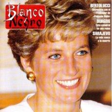 Coleccionismo de Revista Blanco y Negro: 1994. DIANA DE GALES. INÉS SASTRE. COQUE MALLA. POLI DIAZ. REMEDIOS CERVANTES. SEAN YOUNG. . Lote 125260279