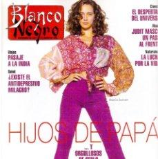 Coleccionismo de Revista Blanco y Negro: 1994. BLANCA SUELVES. ANA OBREGÓN. JUDIT MASCÓ. ESTEFANÍA LUIK. NATALIA DICENTA. VER SUMARIO.... Lote 125262279
