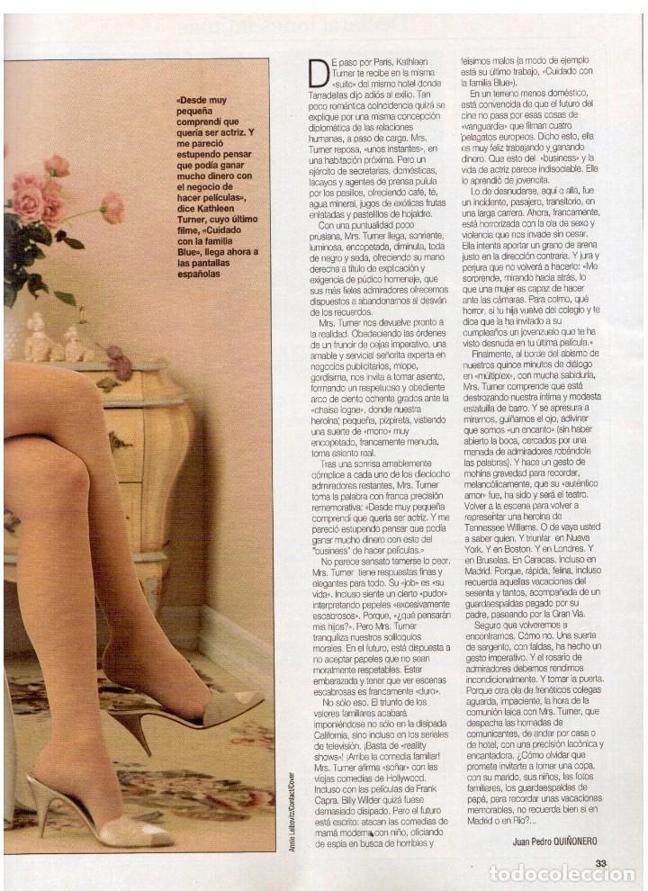 Coleccionismo de Revista Blanco y Negro: 1994. BLANCA SUELVES. ANA OBREGÓN. JUDIT MASCÓ. ESTEFANÍA LUIK. NATALIA DICENTA. VER SUMARIO... - Foto 5 - 125262279