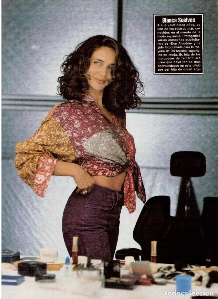 Coleccionismo de Revista Blanco y Negro: 1994. BLANCA SUELVES. ANA OBREGÓN. JUDIT MASCÓ. ESTEFANÍA LUIK. NATALIA DICENTA. VER SUMARIO... - Foto 7 - 125262279