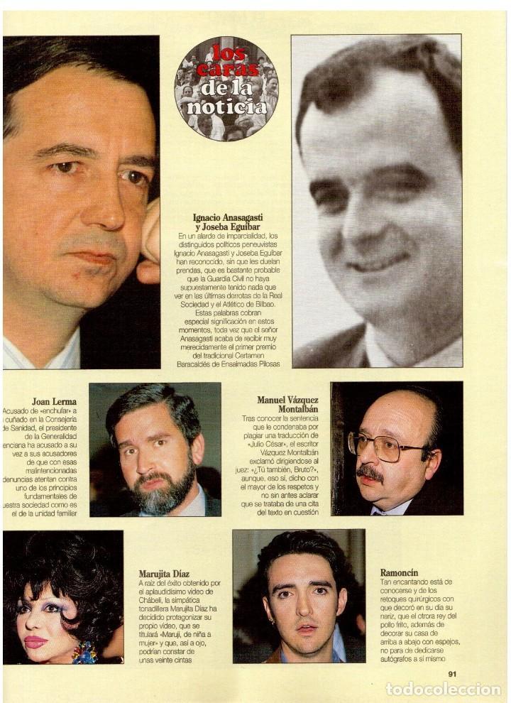 Coleccionismo de Revista Blanco y Negro: 1994. BLANCA SUELVES. ANA OBREGÓN. JUDIT MASCÓ. ESTEFANÍA LUIK. NATALIA DICENTA. VER SUMARIO... - Foto 13 - 125262279