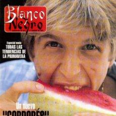 Coleccionismo de Revista Blanco y Negro: 1994. CÉSAR GAVIRIA. LYDIA BOSCH. PACO DE LUCÍA. MARTA SÁNCHEZ. CELIA FORNER. NACHO DUATO.. Lote 125349167