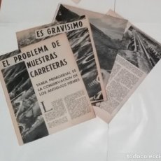 Coleccionismo de Revista Blanco y Negro: LAS CARRETERAS DE ESPAÑA EN 1960 EN RECORTE (R3842) 8 PÁGINAS REVISTA BLANCO Y NEGRO ESE AÑO. Lote 125579323