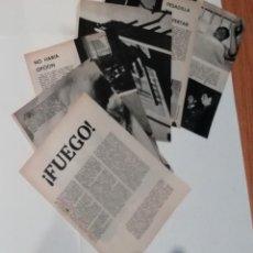 Coleccionismo de Revista Blanco y Negro: INCENDIO SEDERÍAS CARRETAS DE MADRID EN 1960 EN RECORTE (R3843) 14 PÁGINAS REVISTA DE ESE AÑO. Lote 125580799