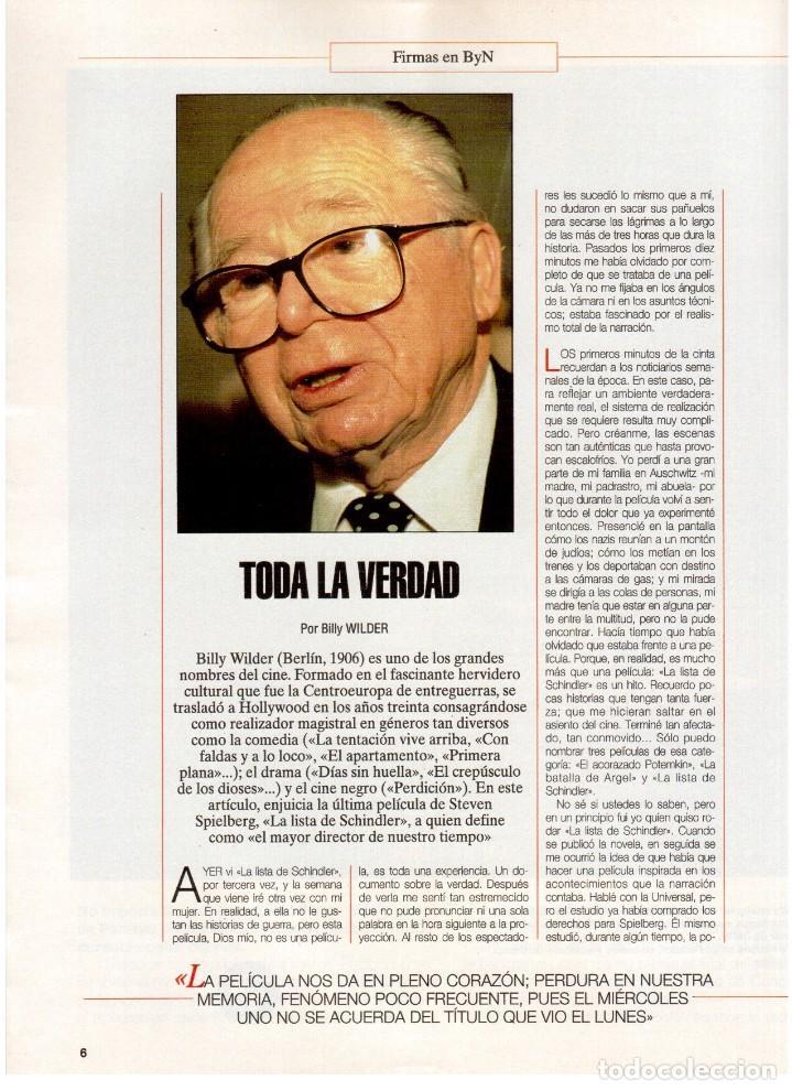 Coleccionismo de Revista Blanco y Negro: 1994. INSTINTO BASINGER. INÉS SASTRE. ARIADNA GIL. AITANA SÁNCHEZ GIJÓN. VER SUMARIO ... - Foto 3 - 125885747