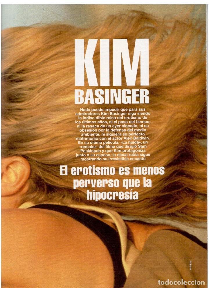 Coleccionismo de Revista Blanco y Negro: 1994. INSTINTO BASINGER. INÉS SASTRE. ARIADNA GIL. AITANA SÁNCHEZ GIJÓN. VER SUMARIO ... - Foto 7 - 125885747
