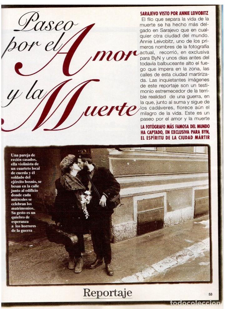 Coleccionismo de Revista Blanco y Negro: 1994. INSTINTO BASINGER. INÉS SASTRE. ARIADNA GIL. AITANA SÁNCHEZ GIJÓN. VER SUMARIO ... - Foto 9 - 125885747