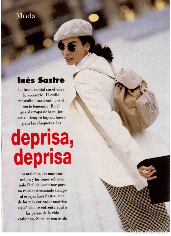 Coleccionismo de Revista Blanco y Negro: 1994. INSTINTO BASINGER. INÉS SASTRE. ARIADNA GIL. AITANA SÁNCHEZ GIJÓN. VER SUMARIO ... - Foto 10 - 125885747