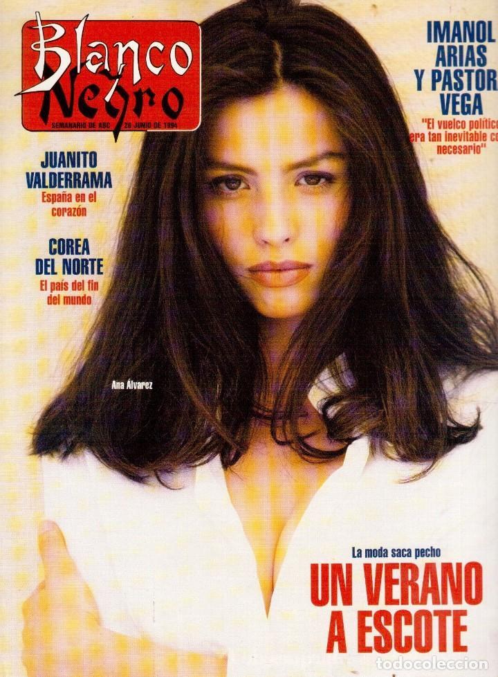 1994. ALEJANDRO SANZ. ANA ALVAREZ. MARIBEL SANZ. JUANITO VALDERRAMA. IMANOL ARIAS. PASTORA VEGA. (Coleccionismo - Revistas y Periódicos Modernos (a partir de 1.940) - Blanco y Negro)