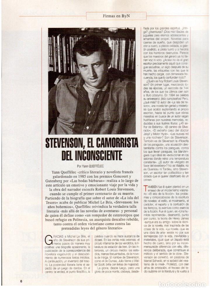 Coleccionismo de Revista Blanco y Negro: 1994. ALEJANDRO SANZ. ANA ALVAREZ. MARIBEL SANZ. JUANITO VALDERRAMA. IMANOL ARIAS. PASTORA VEGA. - Foto 3 - 126005111