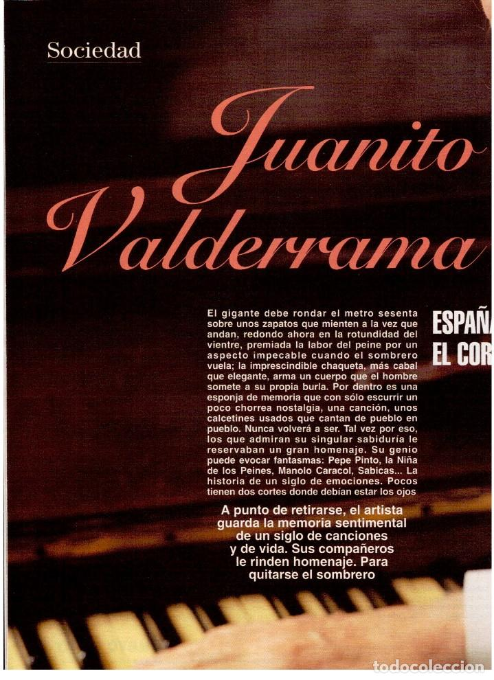 Coleccionismo de Revista Blanco y Negro: 1994. ALEJANDRO SANZ. ANA ALVAREZ. MARIBEL SANZ. JUANITO VALDERRAMA. IMANOL ARIAS. PASTORA VEGA. - Foto 4 - 126005111
