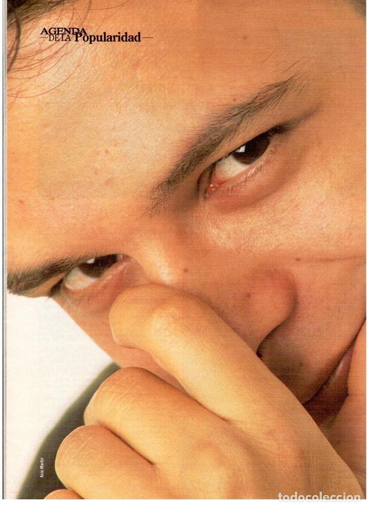 Coleccionismo de Revista Blanco y Negro: 1994. ALEJANDRO SANZ. ANA ALVAREZ. MARIBEL SANZ. JUANITO VALDERRAMA. IMANOL ARIAS. PASTORA VEGA. - Foto 8 - 126005111