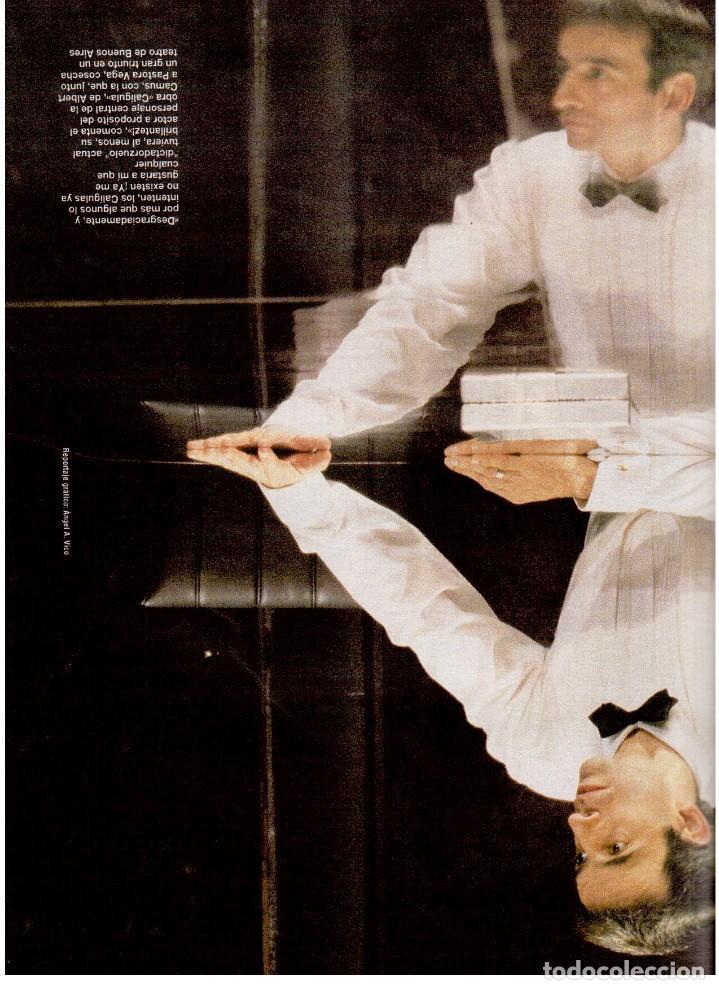 Coleccionismo de Revista Blanco y Negro: 1994. ALEJANDRO SANZ. ANA ALVAREZ. MARIBEL SANZ. JUANITO VALDERRAMA. IMANOL ARIAS. PASTORA VEGA. - Foto 13 - 126005111