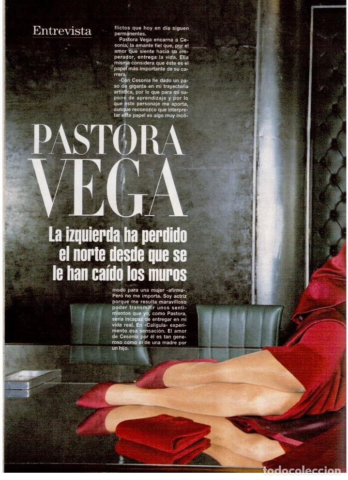 Coleccionismo de Revista Blanco y Negro: 1994. ALEJANDRO SANZ. ANA ALVAREZ. MARIBEL SANZ. JUANITO VALDERRAMA. IMANOL ARIAS. PASTORA VEGA. - Foto 14 - 126005111
