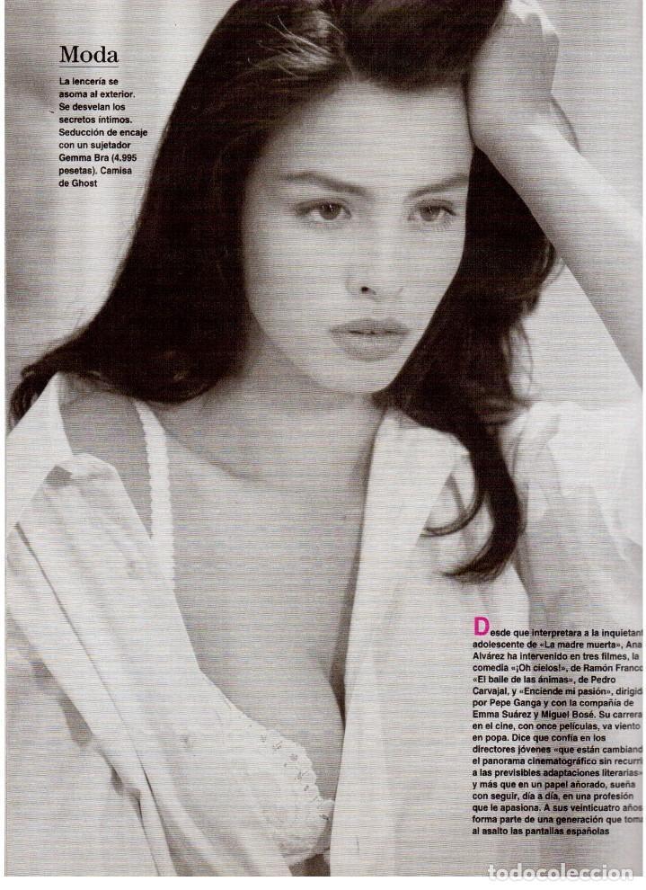 Coleccionismo de Revista Blanco y Negro: 1994. ALEJANDRO SANZ. ANA ALVAREZ. MARIBEL SANZ. JUANITO VALDERRAMA. IMANOL ARIAS. PASTORA VEGA. - Foto 18 - 126005111